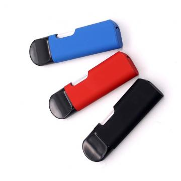 No Lead Oval Shape Plastic Disposable Ceramic Coil Vape Pen